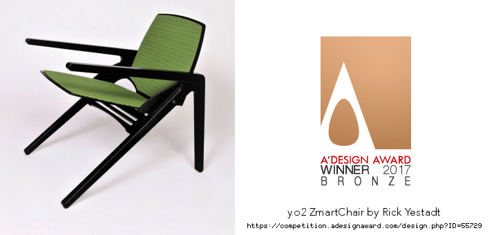 Y. O2 ZmartChair with Cushions – Award