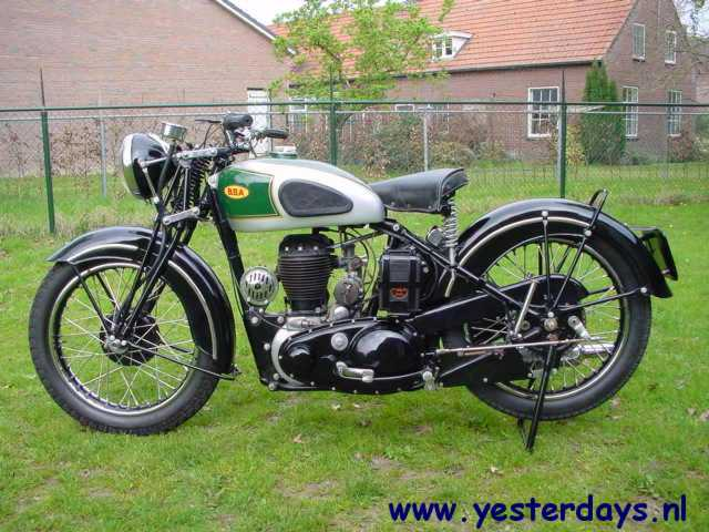 BSA 1942 M20 500 cc 1 cyl sv  Yesterdays