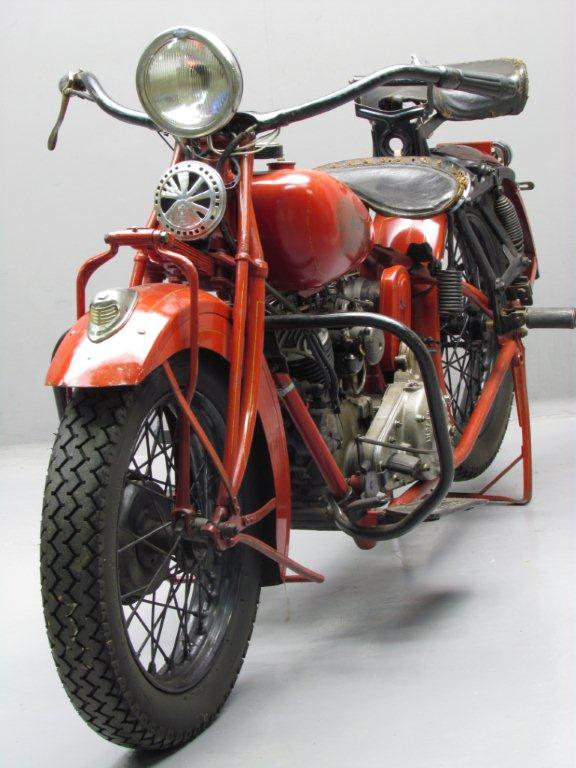 Indian 1932 Standard Scout 750cc 2 cyl sv  Yesterdays