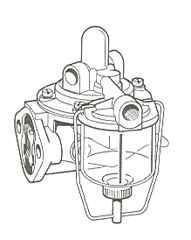 Case Fuel Lift Pump for Case 770,780,880,885,1190,1194