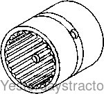 Oliver 1600 Transmission Input Shaft Gear Mounting Sleeve