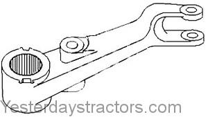 Massey Ferguson 383 Lift Arm 1680040M91