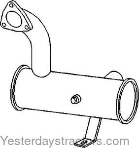 Massey Ferguson Muffler, Vertical for Massey Ferguson 399