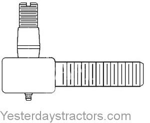 Massey Ferguson 235 Tie Rod End 180507M91
