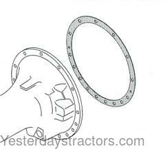 Massey Ferguson 65 Gasket, Rear Axle Trumpet Housing