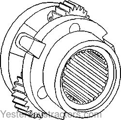 Massey Ferguson Planetary Pinion Carrier Assembly for