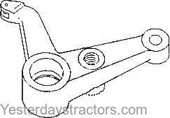 Massey Ferguson 165 Steering Arm Shaft, Center Upper