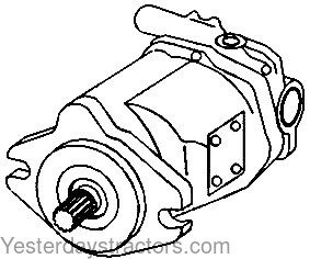 Oliver Hydraulic Pump for Oliver White 2-88,White 2-105