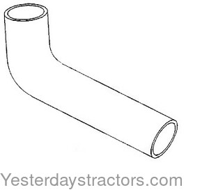 Farmall Radiator Hose Upper for Farmall Cub 184 Lo-Boy,Cub