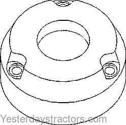 Allis Chalmers Brake Friction Plate for Allis Chalmers