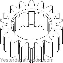 Allis Chalmers Gear, Reverse Countershaft for Allis