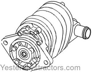 Allis Chalmers Hydraulic Pump for Allis Chalmers 170,175