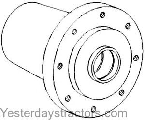 Oliver Front Wheel Hub for Oliver Field Boss
