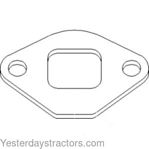 Massey Ferguson Exhaust Manifold Gasket for Massey