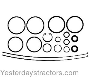 Farmall Clutch Booster Seal Kit for Farmall 786,886,986