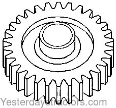 Ford Gear, Reverse Idler, 8 Speed Transmission for Ford