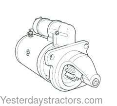 Ford Starter New for Ford 4830,5030,555C,555D,555E,5610S