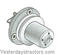 Massey Ferguson Water Pump, With Pulley for Massey