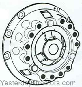 Massey Ferguson Clutch-Pressure Plate with Thrust Plate