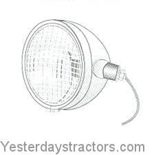 Ford Headlight, Side Mount, RH for Ford Dexta,Major,Power