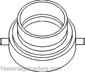 John Deere Carrier, Clutch Throw Out Bearing for John