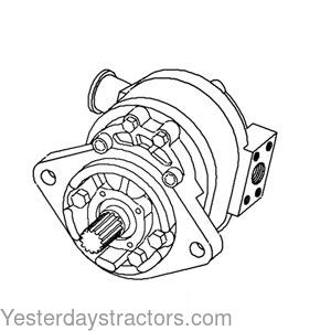 Ford Hydraulic Pump for Ford 340,340A,340B,445,445A