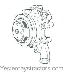 Ford Water Pump for Ford 345C,4500,550,555,555A,555B,2000