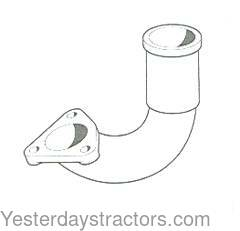 Ford Exhaust Elbow for Ford Major,Power Major,Super Major