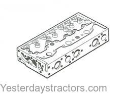 Ford Cylinder Head with Valves for Ford Dexta,Super Dexta