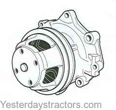 Ford Water Pump for Ford 2600,3600,4600,5600,6600,6700