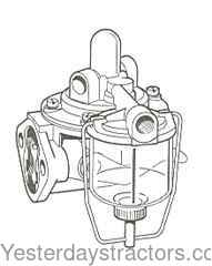 Case Fuel Lift Pump for Case 770,780,880,885,1190,1194