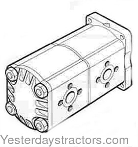 Case Hydraulic Pump for Case 1390,1394,1490,1494,David