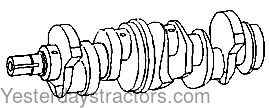John Deere Crankshaft for John Deere 2555,2755,2855,3430