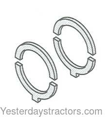Massey Ferguson STANDARD ENGINES Thrust Washer Set, STD