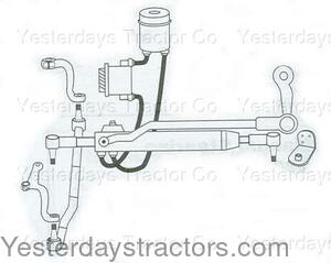 Ford 2600 Tractor Steering Parts Diagram, Ford, Free