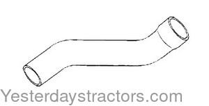 John Deere Radiator Hose, Upper for John Deere 2155,2355N