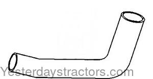 John Deere Radiator Hose, Upper for John Deere 4560,4755