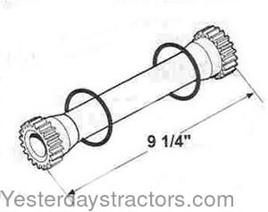 Case Hydraulic Pump Shaft for Case 1200,1210,1212,1390