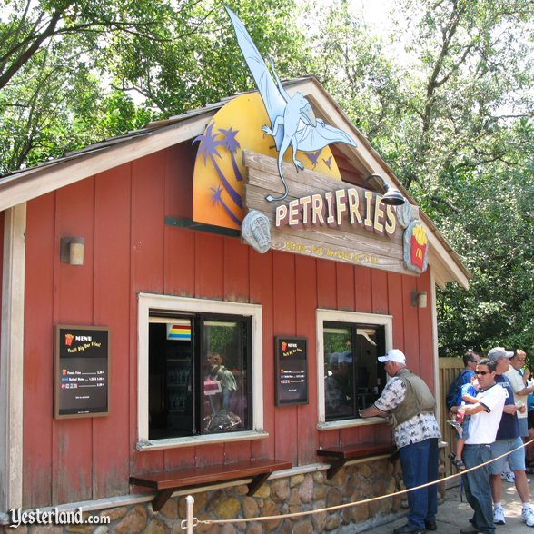 Image result for dinoland animal kingdom mcdonald fries huts