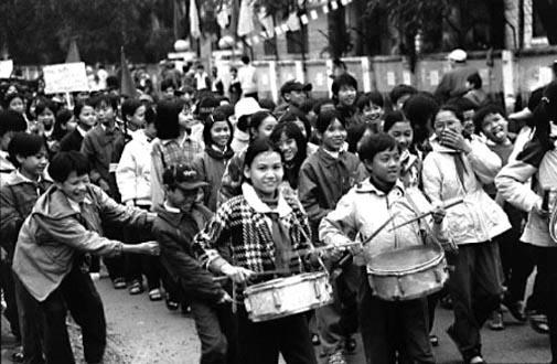 Election Day Parade, Hue - by Karen Davis