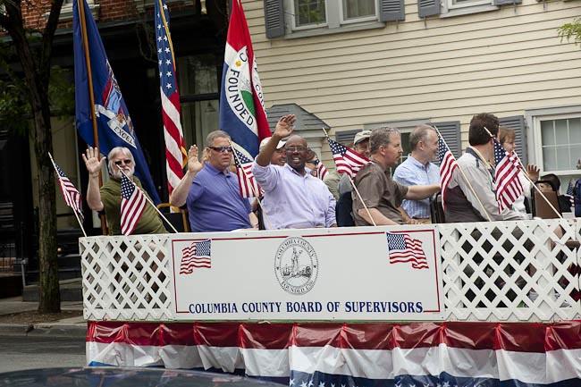Karen Davis, Hudson NY, Flag Day Parade, Columbia County Board of Supervisors