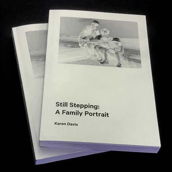 still stepping - book photo