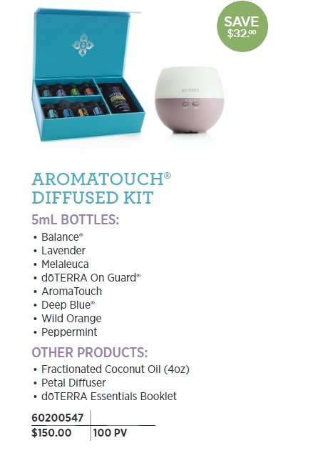 Aroma Diffused