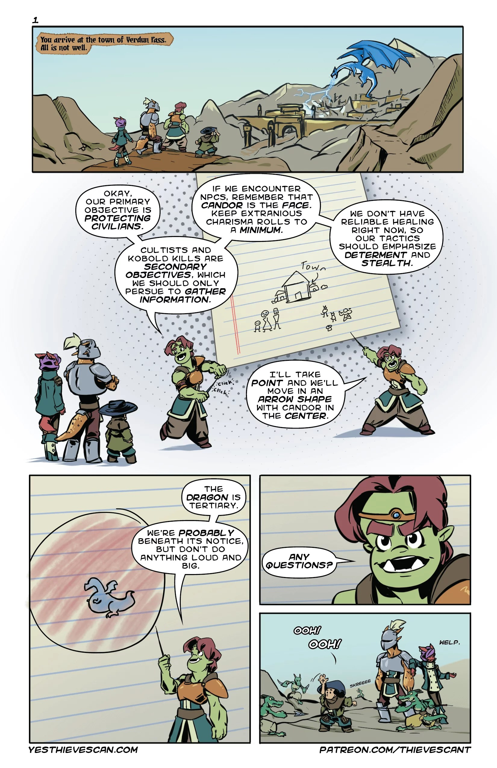 Every Thieves Can't Story starts with a kobold ambush.