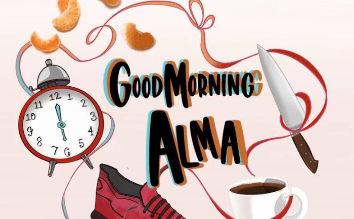Click here to check out Good Morning Alma by Lena Knoer