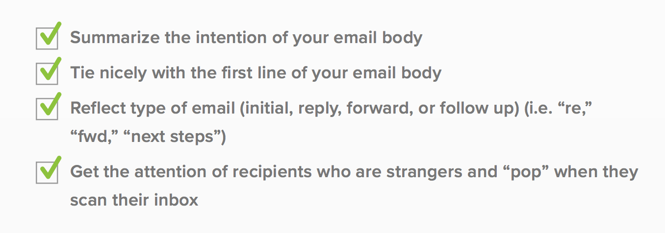 email format