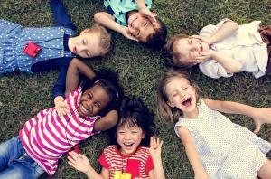 yoga pour enfants cercle