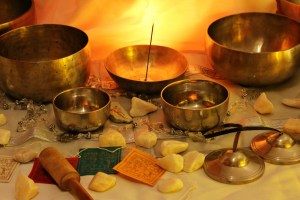 Bols Chantant tibétains Thérapie par les Sons Yoga