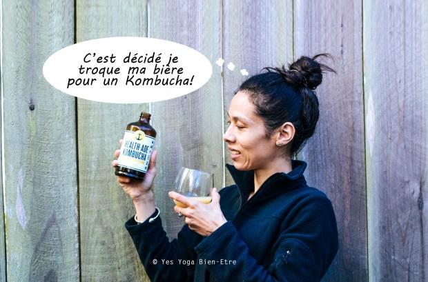 Kombucha ou bière Yes Yoga Bien Etre