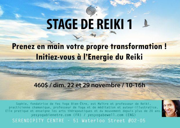 Stage Reiki Singapour